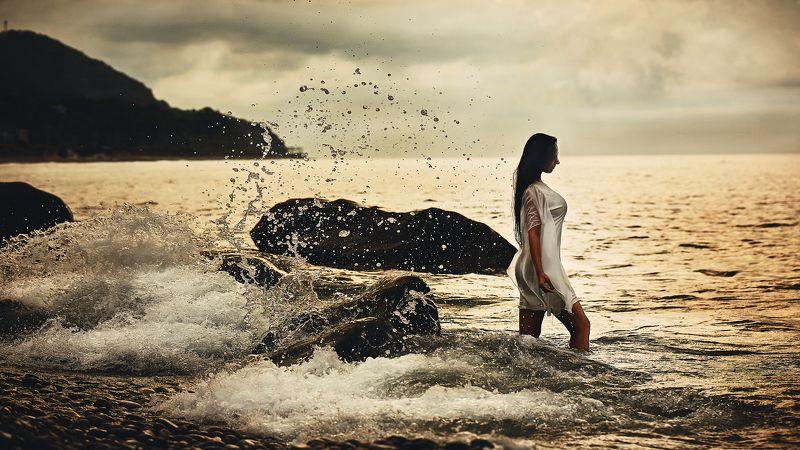 волконка, море, полина, девушка Polinaphoto preview