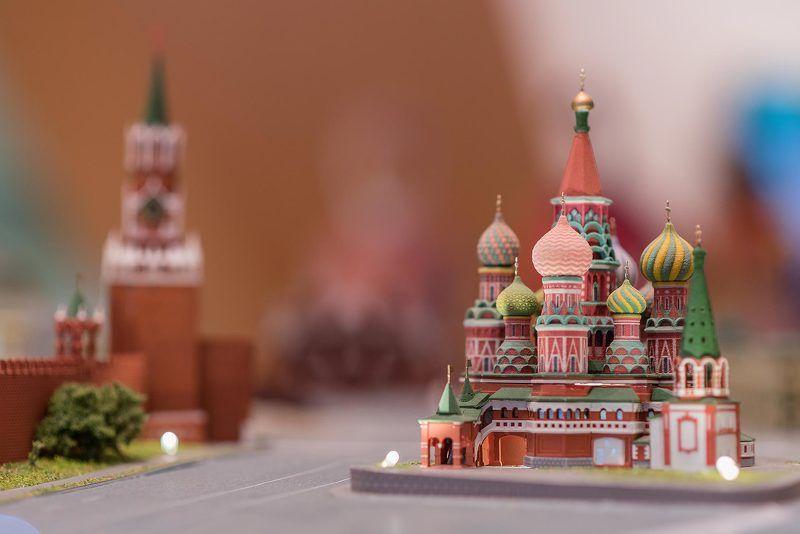 Москва, Moscow, Кремль, Красная площадь, макро, модель, храм, храм Василия Блаженного На Красной площади photo preview