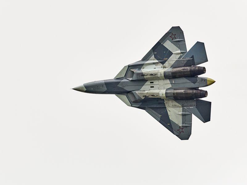 самолет пак фа, авиация, истребитель, небо, свет, репортаж, армия ПАК ФАphoto preview