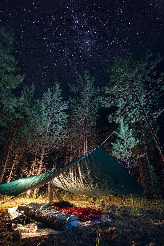 ночь, август, звезды, тент, фото, пейзаж, лучшее, night, august, stars, awning, photo, landscape, best, Ночи августа...photo preview