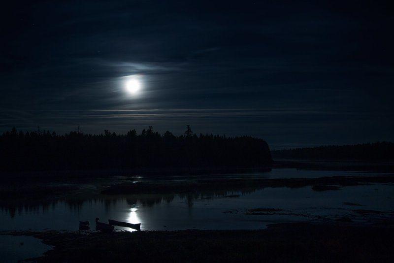 Ночь на реке Мезеньphoto preview