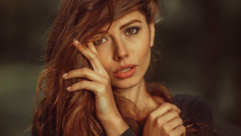 портрет, девушка, глаза,  Настяphoto preview