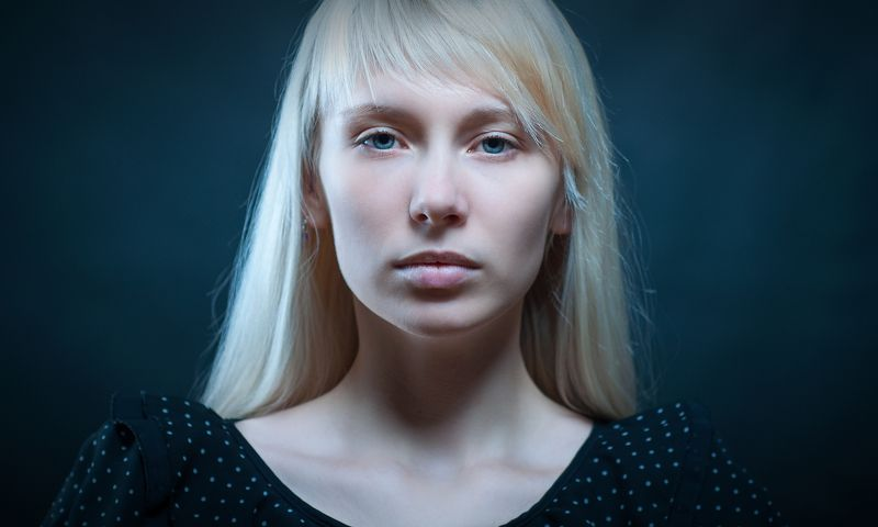 портрет, девушка, красота, студийный портрет, 50 mm, eye, girl, face, people, portrait Янаphoto preview