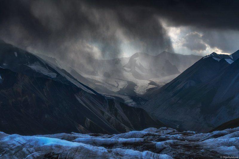 баянкол, ледник, горы, дождь, тянь-шань Горные дождиphoto preview