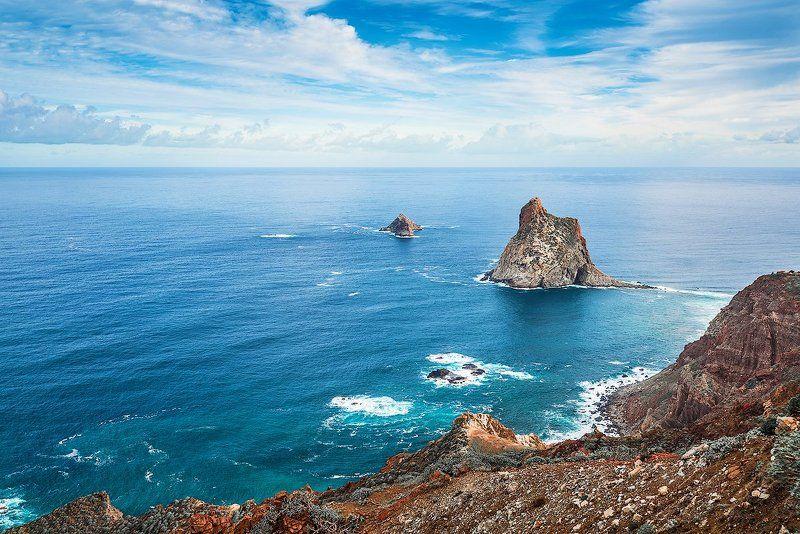 anaga tenerife тенерифе остров океан канары Roques de Anagaphoto preview