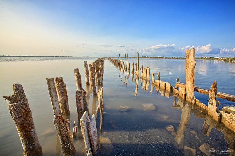 Утро на соленом озере.photo preview