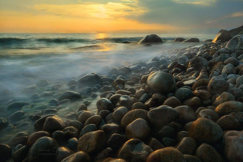 байкал, бурятия, камни, закат ***photo preview