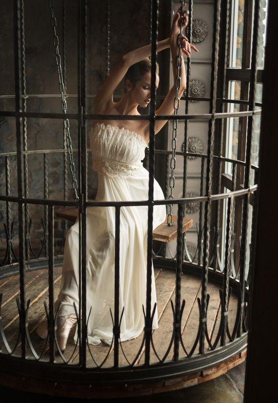 балерина, клетка,закат Алинаphoto preview