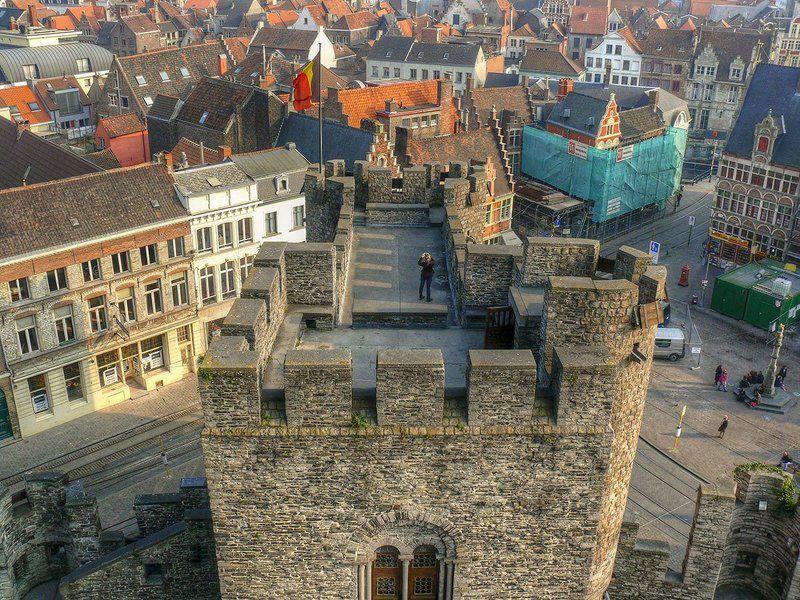 гент, башна, замок, фотофраф Коллегаphoto preview