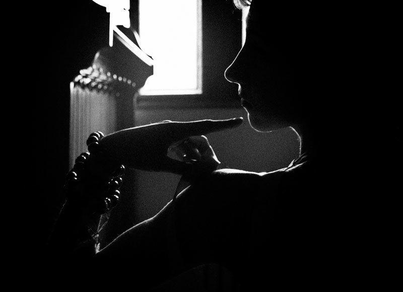 дим і сонце крізь зачинене вікно...твій силует...photo preview