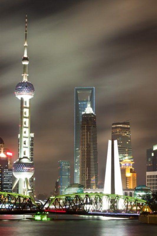 китай, шанхай, набережная photo preview