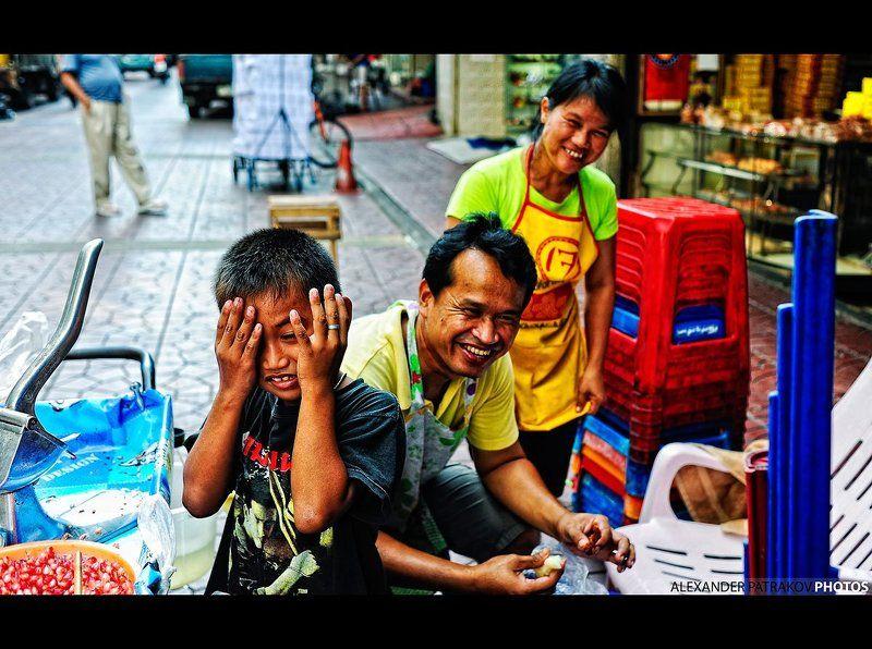 дети, бангкок, азия ониphoto preview
