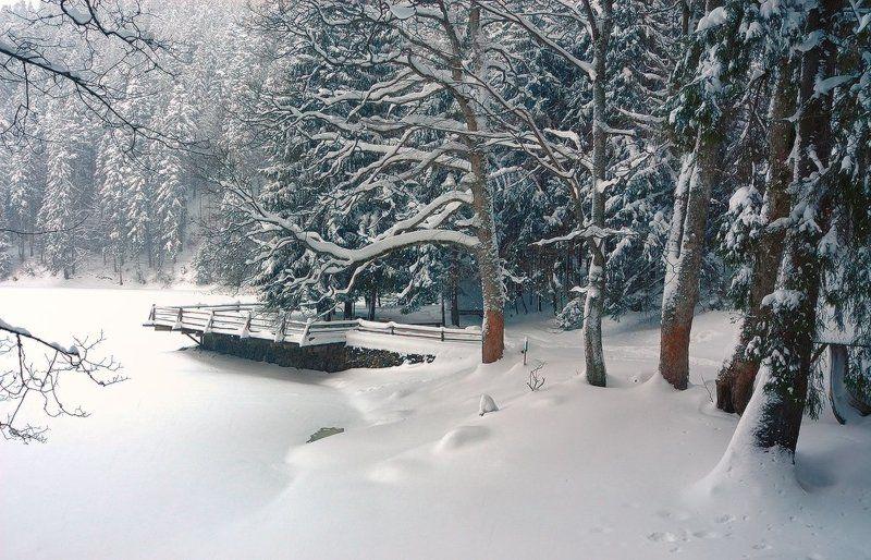 Зима на Синевиреphoto preview