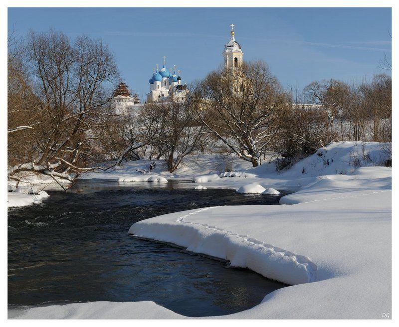 зима, нара, серпухов, храм, монастырь ***photo preview