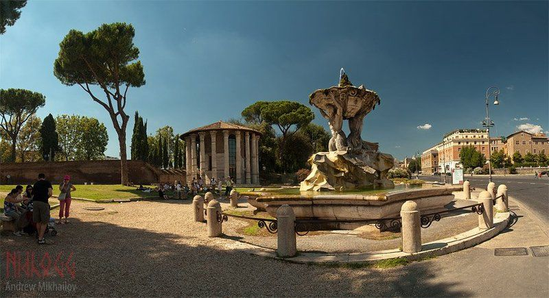 Рим. Бычий форум.photo preview