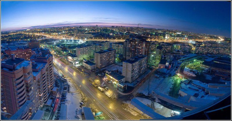 ночной, город Микросхемаphoto preview