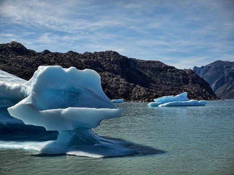 ледник, айсберг, озеро Трон Снежной Королевыphoto preview