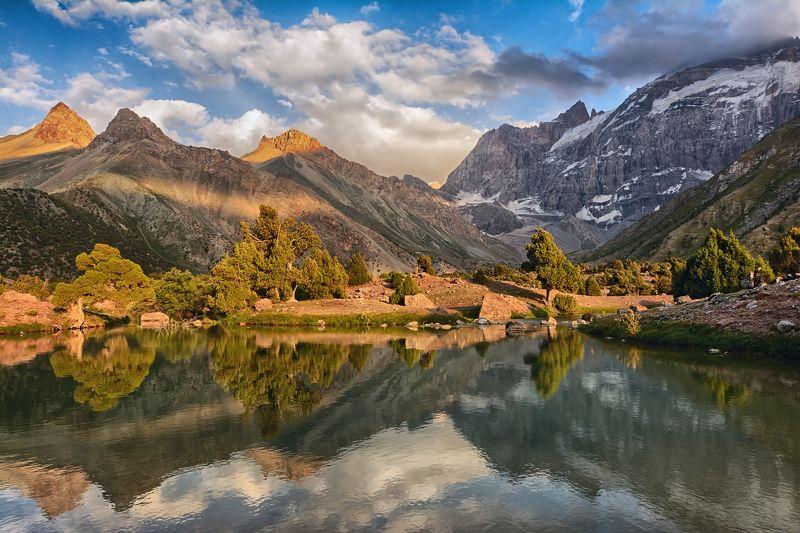 пейзаж, путешествия, горы, природа Куликалонские озёраphoto preview