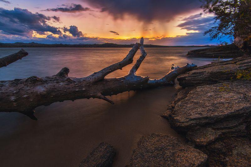 колывань, саввушка, алтайскийкрай, алтай Вечер на Колыванском озереphoto preview