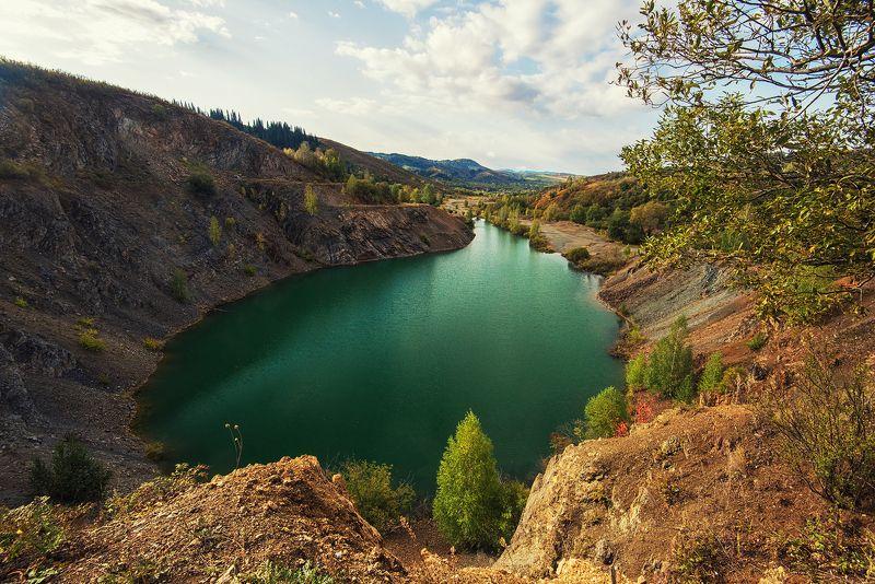 озеро, алтайскийкрай, алтай Голубое озероphoto preview