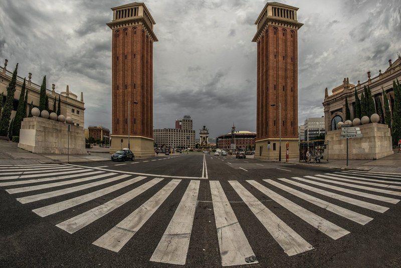 барселона, каталония площадь Испанииphoto preview