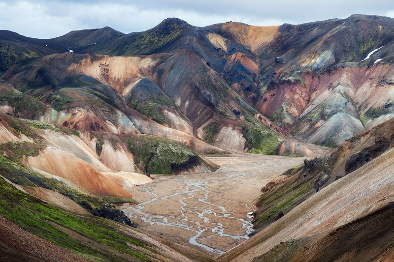 iceland, landmannalaugar, travel, brizmaker, photo Colors of Landmannalaugarphoto preview