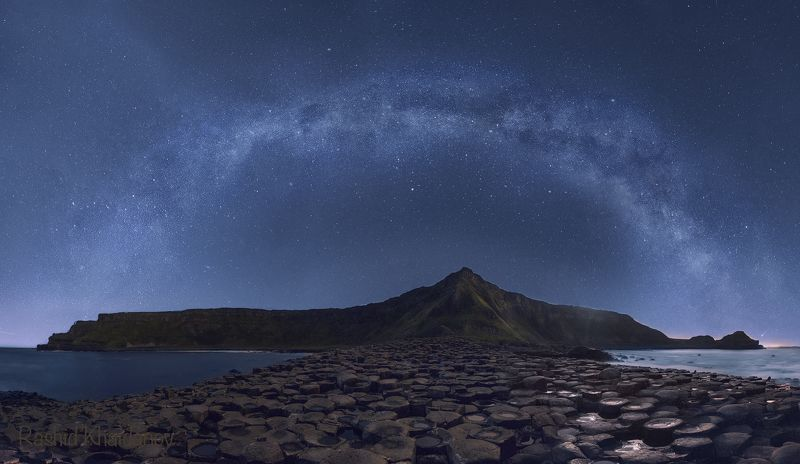 Галактика над тропой Великанов!photo preview