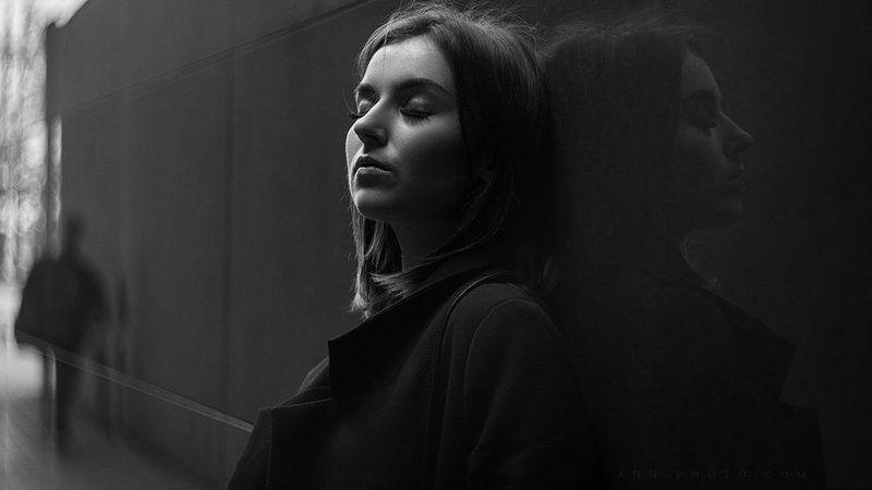 портрет, женский портрет, street-портрет Юлияphoto preview