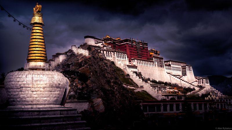 потала, тибет, дворец, лхаса, путешествие, экспедиция дворец Потала. Лхаса. Тибетphoto preview