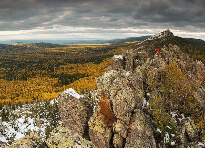 осень, таганай, урал Золотая осень на Таганаеphoto preview