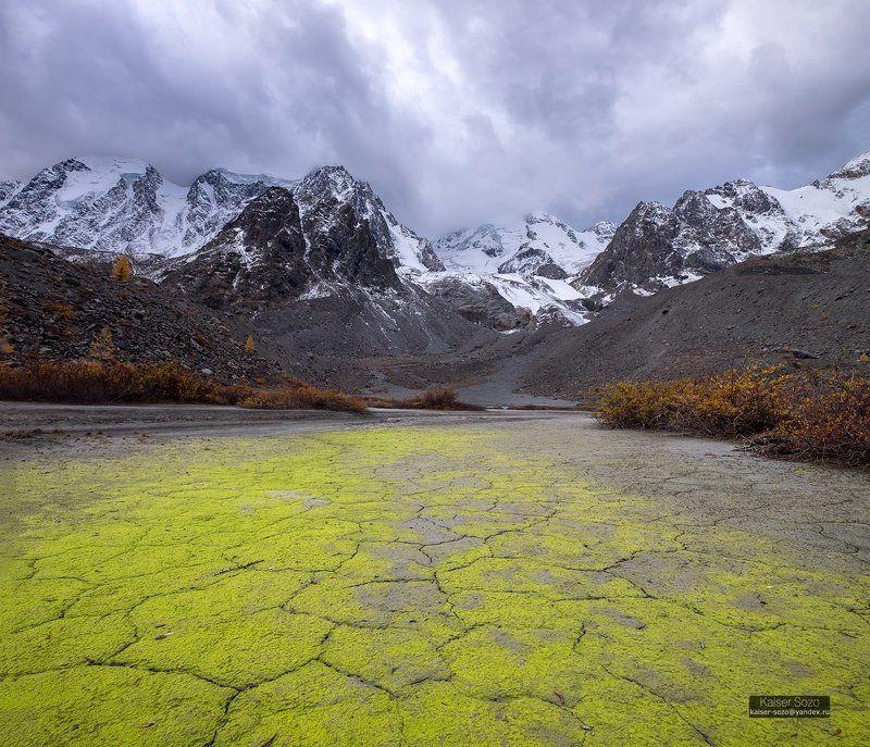 россия, алтай, шавла, шавлинские озера, ледник зелинского По дороге из жёлто-зелёного кирпичаphoto preview