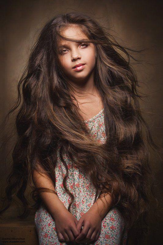 девочка, ребенок, волосы Марияphoto preview
