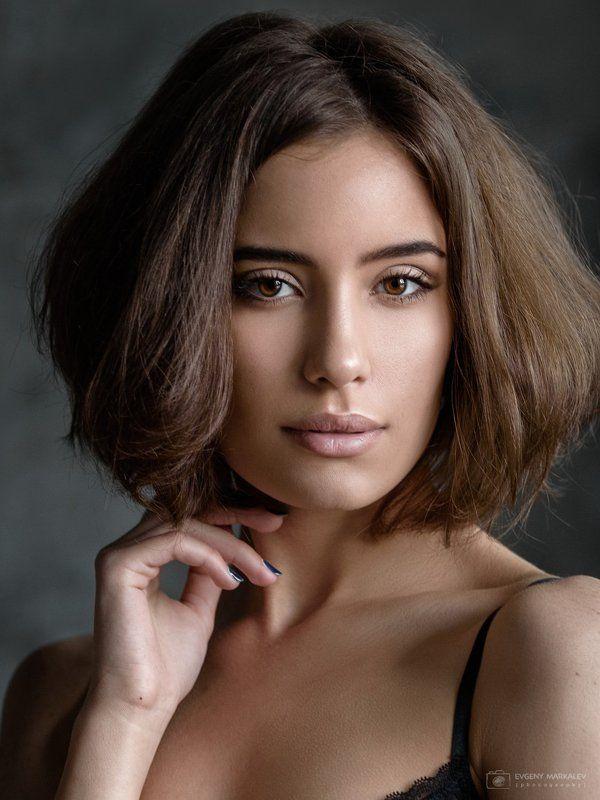 портрет, девушка, студия, естественный свет, portrait, girl, indoors, natural light Evaphoto preview
