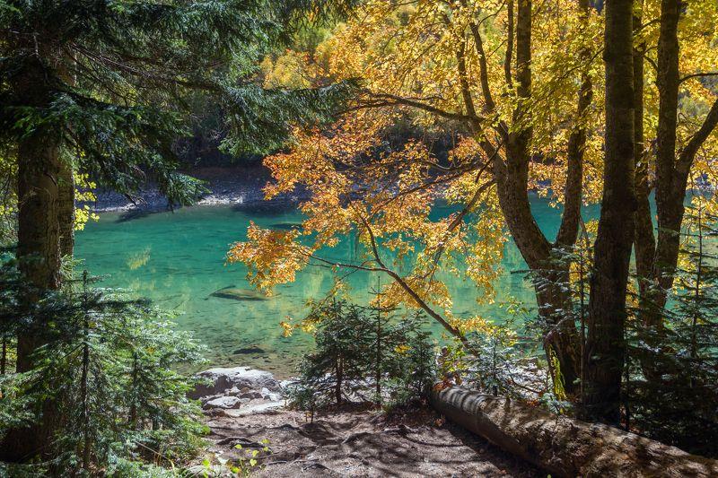 карачаево-черкесия ,кчр ,горы,бадукские озера ,теберда ,тебердинской заповедник ,озеро,осень Осень на Бадукских озерах ...photo preview