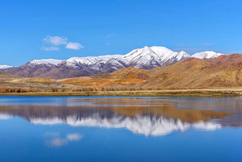 озеро, вода, лазурь, горы, алтай, lake, water, azure, mountains Осенняя лазурь...photo preview