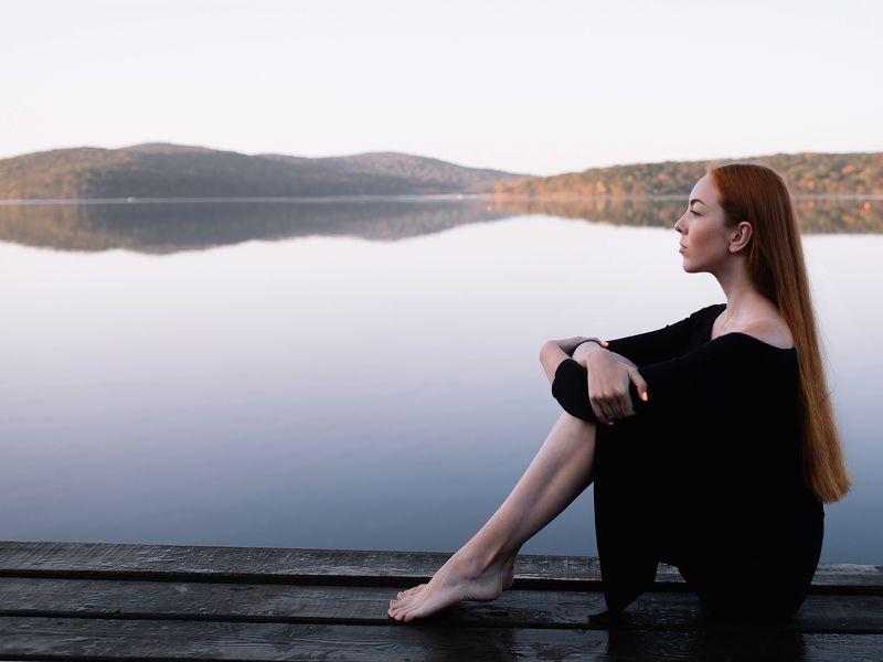 девушка, море, природа, портрет photo preview