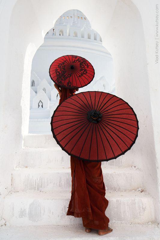 монахи, бирма, мьянма, храм, пагода, мингун, детки, азия, monks, mingun, asia, myanmar, burma, kids Гармония по-бирманскиphoto preview