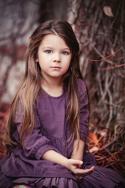 портрет,ребенок,осень ***photo preview