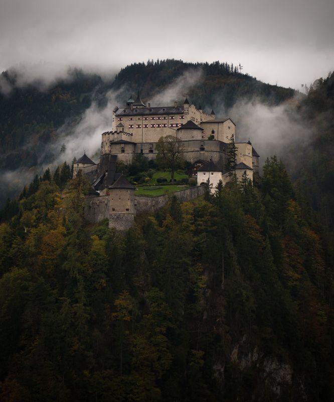 Hohenwerfen, Castle, Austria Hohenwerfen Castle, Austriaphoto preview