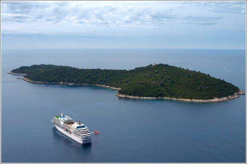 хорватия, дубровник, море, остров, пейзаж В нашу гавань заходили кораблиphoto preview