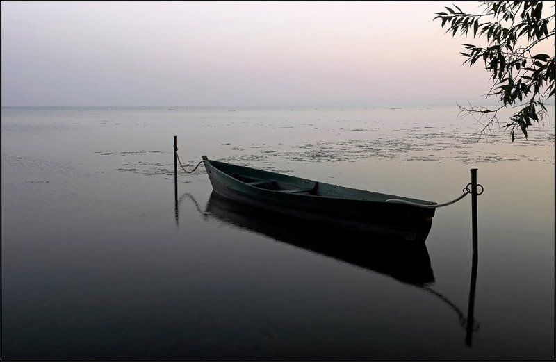 переславль, залесский, плещеево, озеро, лодка Лишь комариный писк тревожил тишину...photo preview