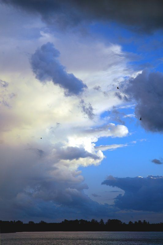 бологое, закат, красивые облака Ещё о бологовском небеphoto preview