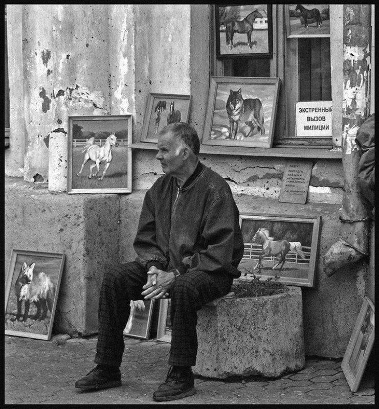 город, ярославль, портрет, художник, картина В окружении прекрасногоphoto preview