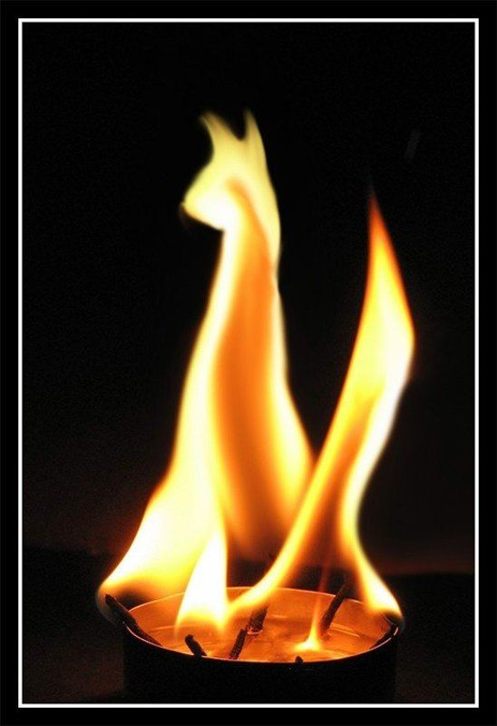 пламя, свеча Кто сказал \