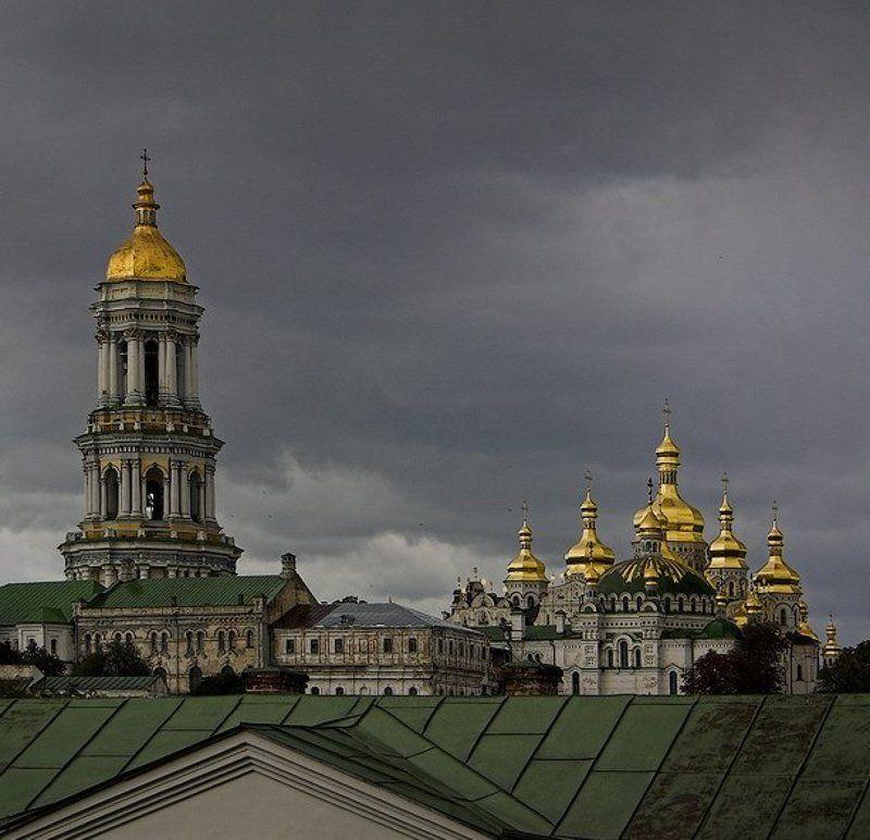 киев,лавра,гроза ***photo preview