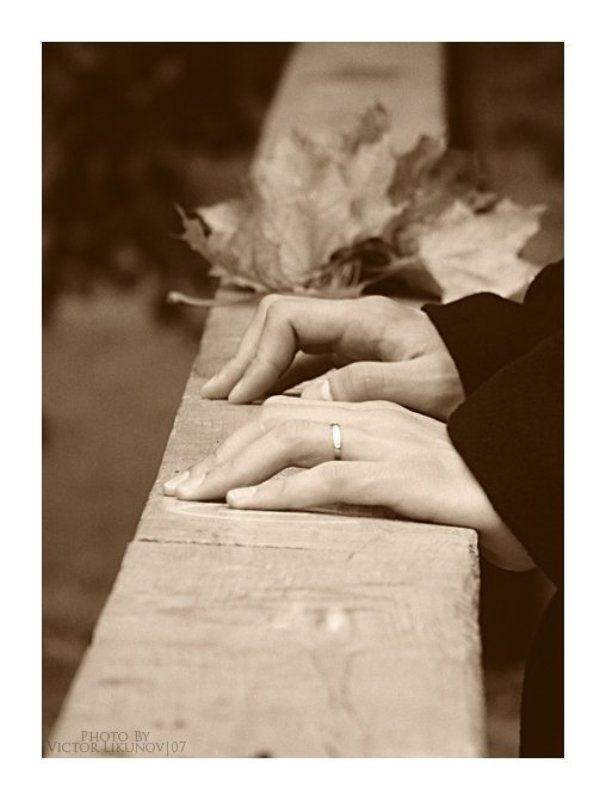 осень, жанр, руки, arhy Too late....photo preview