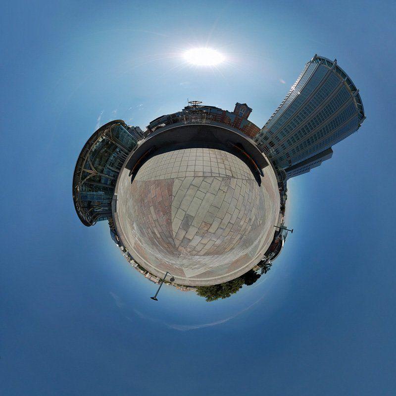 москва дом музыки сфера панорама глобус планета Глобус Московского Дома Музыкиphoto preview