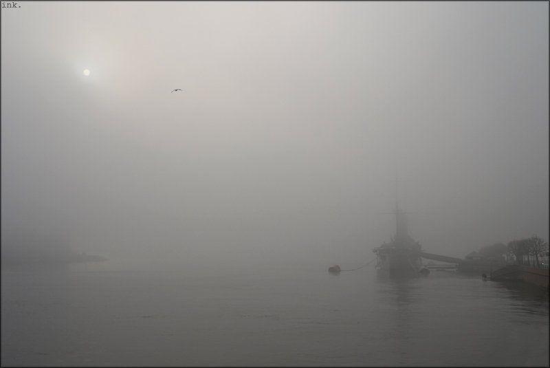 легендарный, крейсер, аврора ...по приборам... (туманная #3)photo preview