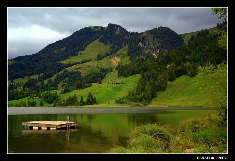 швейцария, schwarzsee, fribourg, черное озеро, цвета, paradox Цвета Черного озераphoto preview