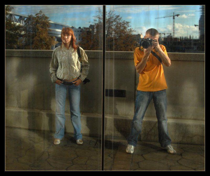 отражение, мост, багратион, москва-сити, alex, eremite, olik40 Отражениеphoto preview